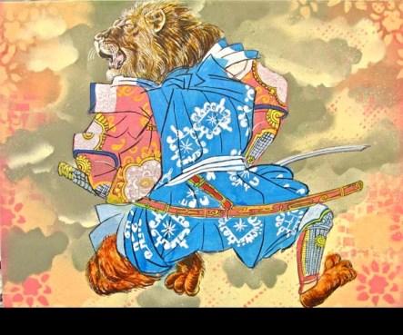 154 lion