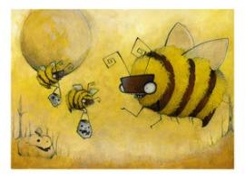 Halloweenie Bees