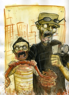 zombie dad and son WEB