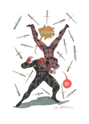 bat force knives