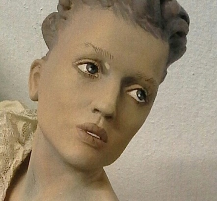 catherine portrait sculpt close up
