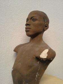 male dancer bust