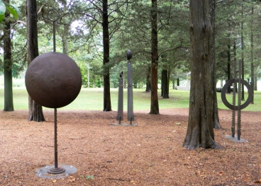 Old Lyme Sculpture Grds - 3 Works