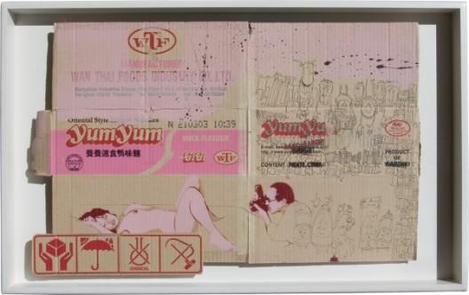Yum-Yum-Duck-Flavour-2004-49x78x5cm-600x378