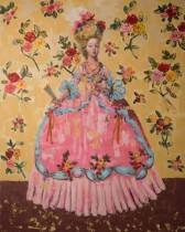 Lady of Roses (60x48) oil on canvas 2013