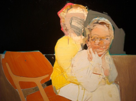 Portrait of CS (36x36inches, oil on board, 2009)