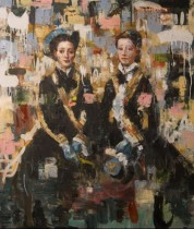 Sisters' Love (48x36) oil on canvas 2013