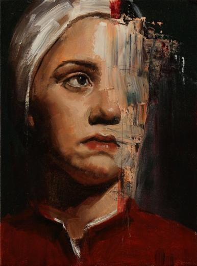 Adolescence 9x12 oil on canvas $350 web