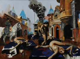 Europa 36x48 oil on canvas $2,500 web