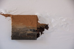 PAYSAGE EN NAVIGUANT _ TRAVERS L'OCÉAN BLANC. Alberto Reguera, 2013. 50 x 50 x 13 cm.
