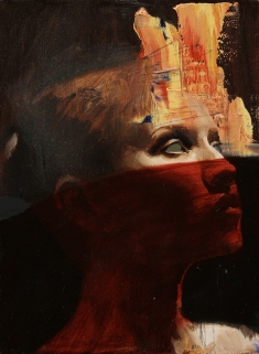red veil 9x12 oil on canvas $350 web