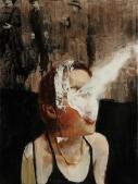 THC 9x12 oil on canvas $350 web