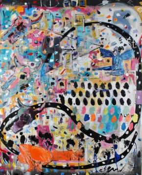 eternal return, 60 x 48, oil on canvas