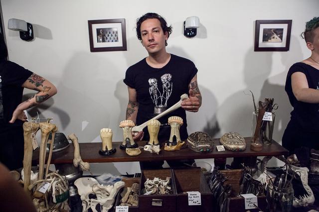 morbid anatomy flea market
