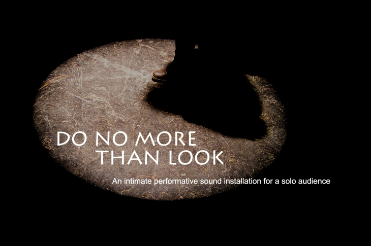 Do No More Than Look_NOoSPHERE Arts_flyer