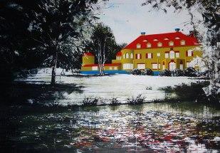 97. TASSO - Gute, alte Zeit. SprayLack+Acryl on Canvas 140x200, 2015 - klein