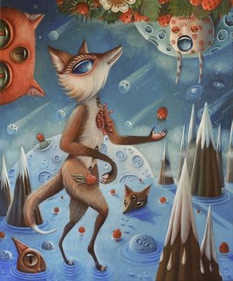 4-Hopi-Dream-Duality-oil-on-canvas-