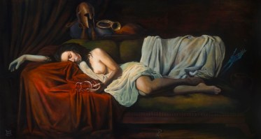 A misguided whim 24x44 oil on canvas 2015