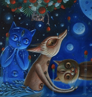 Hopi Dream _aire_ oil on canvas