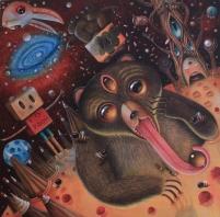 Hopi-Dream-Tao-acrylic-on-wood-by-peca-redmas-expo