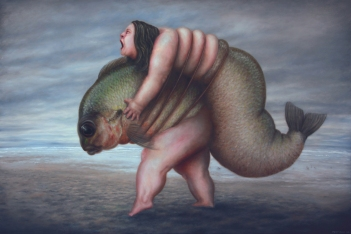 Untitled - Oil on canvas -97 x 146 cm - 2011