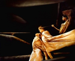 Furies, 58x60 inches, 2003