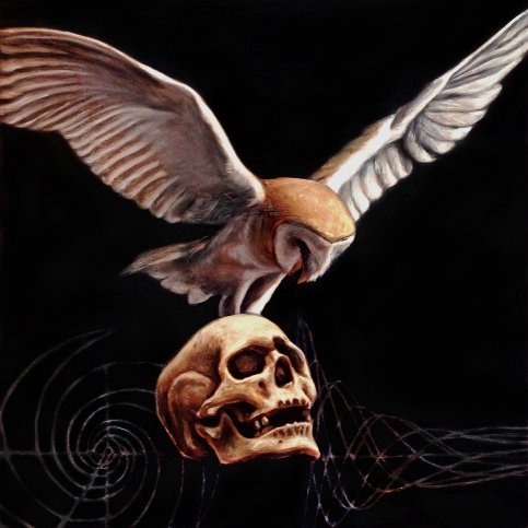 Momento Mori, 12 x 12 inches, oil on canvas, 2015