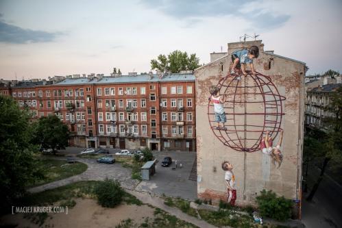 Polan Warsaw 2015 as part of Street Art Doping Festival