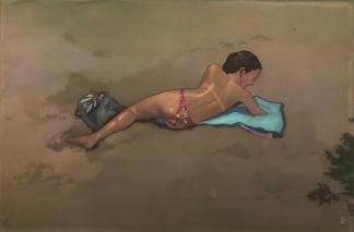 EDWIN USHIRO The Beach (2016)