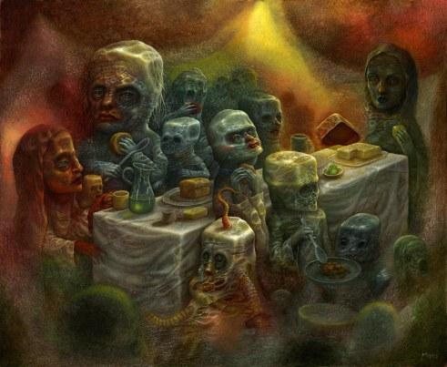 The Next Meal 20x24 2015