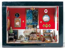 Small Show Doll House. 45x66x50. 2014