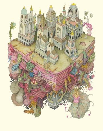 City of Lymph Print online