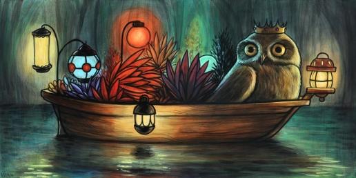 Owls Lantern Boat 72