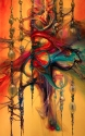 String Theory 25X45 Oil on Canvas