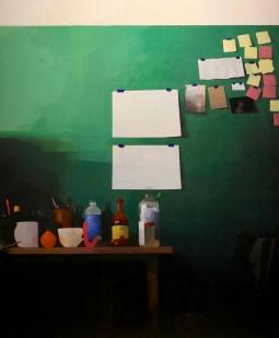 Premonition, Felicia Forte, oil on canvas, 48_x60_