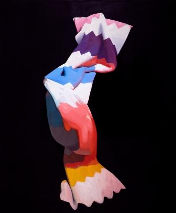 Specter, Felicia Forte, oil on canvas, 58_x70_