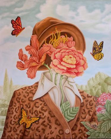borboletas no jardim m