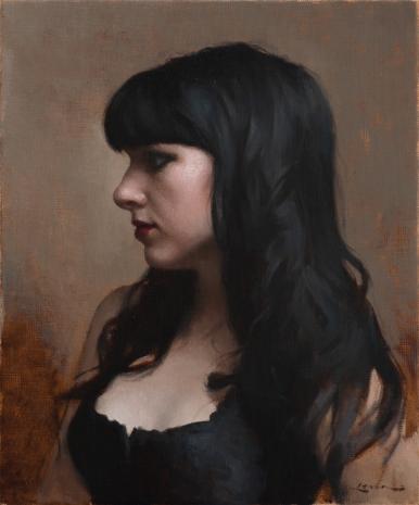 Goth Girl, 12 x 10
