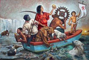 3. TERRAM IGNORAMUS (2018) Oil on panel 24 x 36 inches (72 dpi)