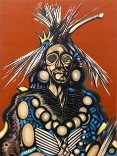 Brave_48x36_Oil on Canvas