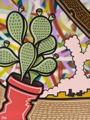 Cartoon Country_48x36_Mixed Media on Canvas