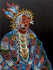 Elder_48x36_Oil on Canvas