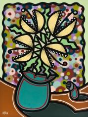 Paparazzi_48x36_Mixed Media on Canvas