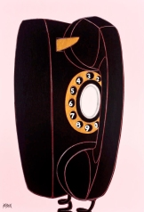 Phone Sex_52x36_Acrylic on Panel