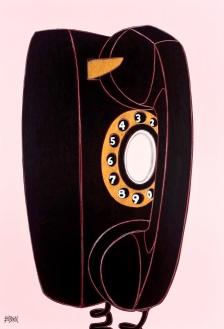 Phone Sex_52x36_Acrylic on Panel