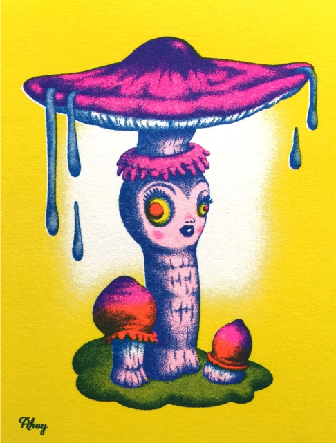 Ahoy_Game Of Shrooms_Parasol Mushroom