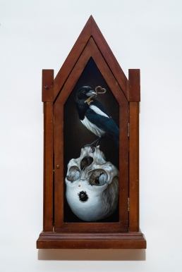 magpie and skull web